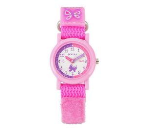 【送料無料】nb tikkers girls pink strap watch  atk1025tnp
