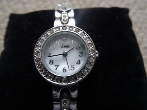 【送料無料】limit ladies quartz sparkly wrist watch, battery, 20356710g excellent