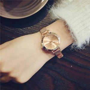【送料無料】women watches stainless steel bracelet ladies design simple quartz wristwatches