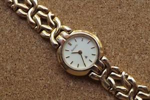 【送料無料】ladies gold tone accurist bracelet watch