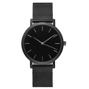 【送料無料】crystal stainless steel analog quartz wrist watch