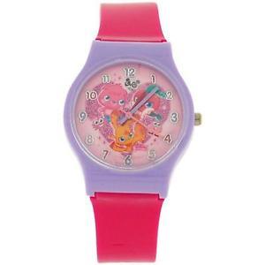 【送料無料】moshi monsters hot pink girls analogue plastic strap watch mm019