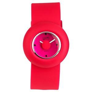 【送料無料】eton round case silicon strap fashion watch 2928j