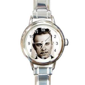 【送料無料】john dillinger 1930s outlaw round italian charm watch ro44