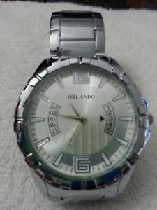 【送料無料】steel male wrist watch man mens plated color