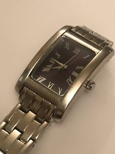 【送料無料】womens silver watch