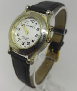 【送料無料】ladies advance night light quartz watch