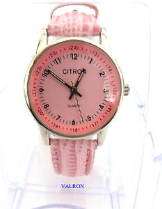 【送料無料】girly pink watch by citron w7