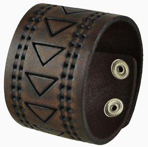 【送料無料】the santa monica collection leather cuff snap on bracelet