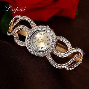 【送料無料】lvpai women watches rhinestone bracelet wristwatches fashion classic ladies