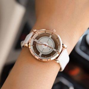 【送料無料】bgg hollow womens luxury creative watch womens casual watches leather ladie