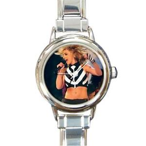 【送料無料】britney spears really wild round italian charm watch