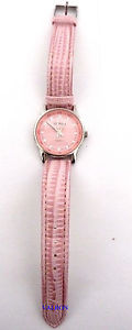 girly pink watch by citron w7