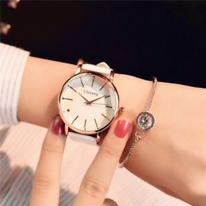 wristwatch 【送料無料】minimalism simple women white casual quartz la for watches stylish