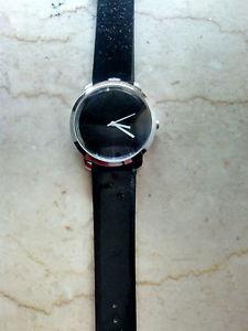 【送料無料】orologio da polso nero nuovo quadrante grande