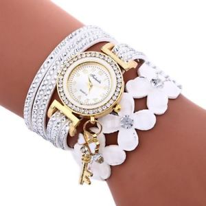 【送料無料】women watch casual analog leather bracelet watches