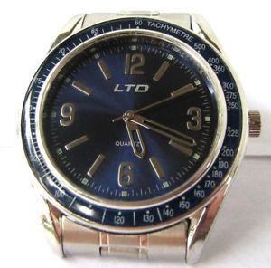 【送料無料】ltd quartz watch with stainless steel bracelet