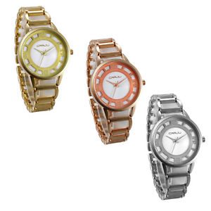 【送料無料】womens business casual ultra thin arabic numberals analog quartz wrist watch
