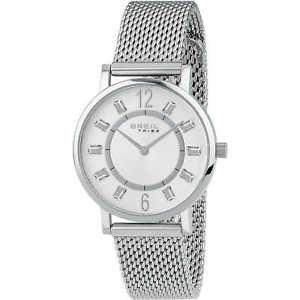 orologio breil tribe skinny donna ew0402 watch maglia milanese argento zirconi