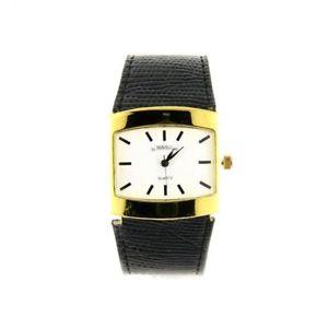 【送料無料】montre bracelet simili noir femme mavelli botier dor mtal mymontre