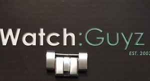 【送料無料】bulova accu swiss polished silvertone replacement watch linkpin 63b172