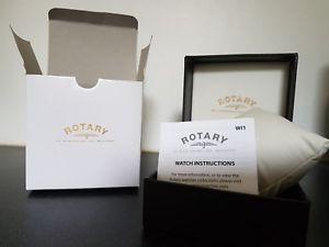 【送料無料】*brand * genuine rotary watch display box amp; manual