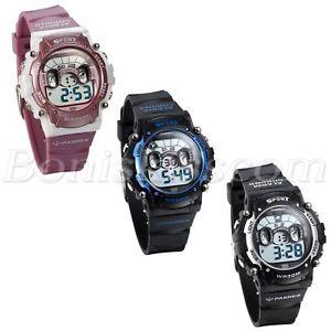 【送料無料】kids boys girls multifunction children sports waterproof digital wrist watch