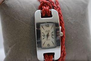 【送料無料】leather wrap watch for small wrists
