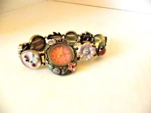 【送料無料】rare senlon watch flower embellishments