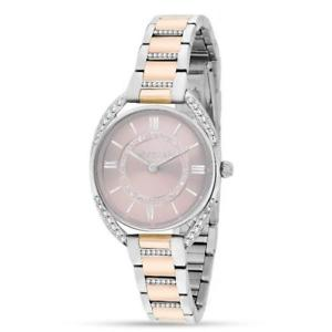 morellato orologio donna tivoli r0153137507 polso acciaio rosa brillantini chic