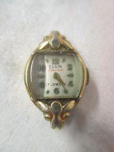 【送料無料】vintage elgin starlite ladies wrist watch 17 jewels
