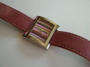 【送料無料】j jill watch,ladies,good working preown cnd,case 1 18wide,genuine leather