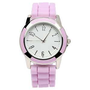 【送料無料】xhilaration womens rubber purple watch