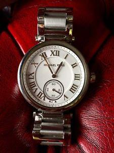 michael kors chronograph skylar stainless steel bracelet watch 42mm mk5866