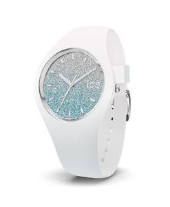 【送料無料】ice lo white blue medium 3h 13429 analog silikon wei