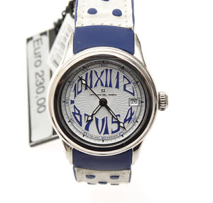 【送料無料】icina del tempo, orologio donna safari revolution ot102602absbw bianco c103
