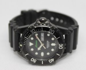 aems by st moritz, menladies shadow dive watch, 20atm, ac series 0039