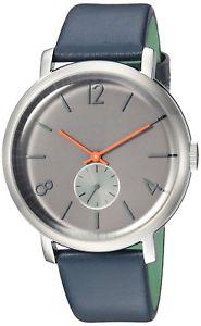【送料無料】ted baker mens oliver leather strap watch te15063004 rrp 145