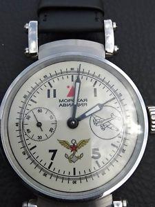 【送料無料】molnija mens wristwatch ussr military soviet watch vintage 1953 year watch big