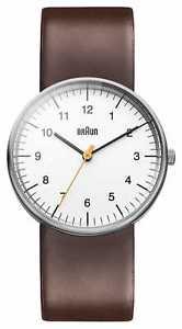 【送料無料】braun mens white brown bn0021whbrg watch 19