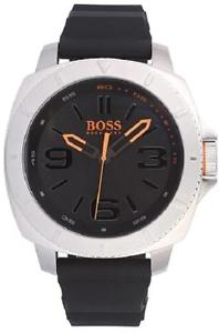 【送料無料】hugo boss orange mens analogue silicon strap watch 1513105