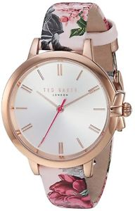 【送料無料】ted baker womens leather strap watch te50267001 rrp 149