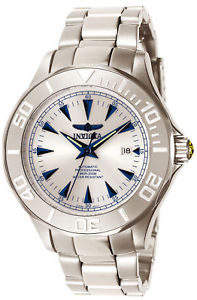 【送料無料】invicta 7033 mens signature automatic steel bracelet watch
