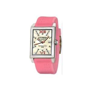 【送料無料】orologio donna locman stealth 024100mwnpk0sip silicone rosa madreperla bianco