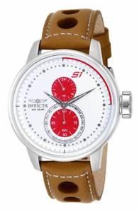 【送料無料】invicta 16018 mens s1 rally multifunction leather strap watch