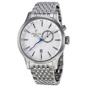 【送料無料】 mens invicta 12228 45mm gmt vintage steel bracelet watch