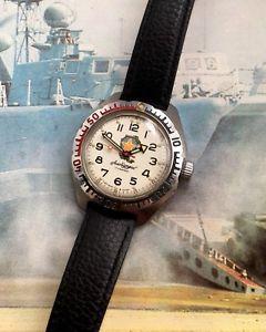 【送料無料】russian divers amfibia albatros gents wristwatch vintage watch
