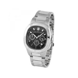 【送料無料】orologio uomo morellato classy sz6021 chrono bracciale acciaio nero