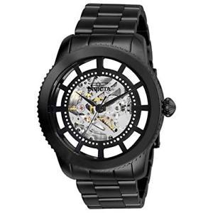 【送料無料】invicta mens objet d art automatic stainless steel casual watch 27554