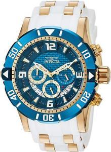 【送料無料】invicta 23707 mens pro diver steel amp; polyurethane strap chronograph dive watch